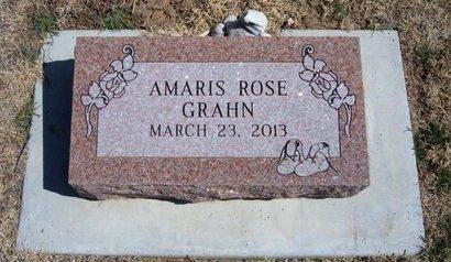 GRAHN, AMARIS ROSE - Baca County, Colorado | AMARIS ROSE GRAHN - Colorado Gravestone Photos