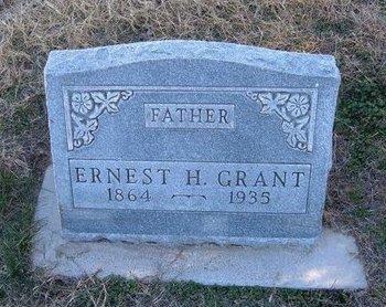GRANT, ERNEST H - Baca County, Colorado | ERNEST H GRANT - Colorado Gravestone Photos