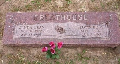 "GREATHOUSE, FLOYD ""BUSS"" - Baca County, Colorado 