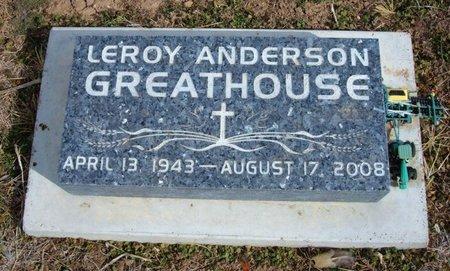 GREATHOUSE, LEROY ANDERSON - Baca County, Colorado | LEROY ANDERSON GREATHOUSE - Colorado Gravestone Photos