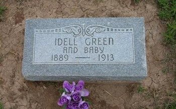 GREEN, IDELL - Baca County, Colorado | IDELL GREEN - Colorado Gravestone Photos