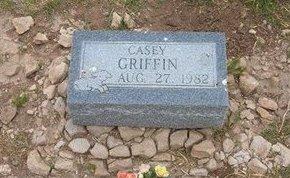 GRIFFIN, CASEY - Baca County, Colorado | CASEY GRIFFIN - Colorado Gravestone Photos