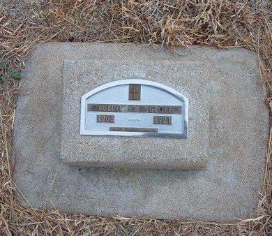 GROFF, PAULINE S - Baca County, Colorado   PAULINE S GROFF - Colorado Gravestone Photos