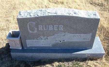 GRUBER, IVAN C - Baca County, Colorado   IVAN C GRUBER - Colorado Gravestone Photos