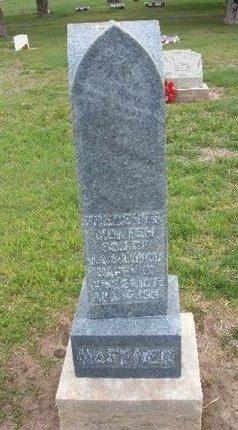 HAFFNER, FREDERICK MORTEN - Baca County, Colorado   FREDERICK MORTEN HAFFNER - Colorado Gravestone Photos