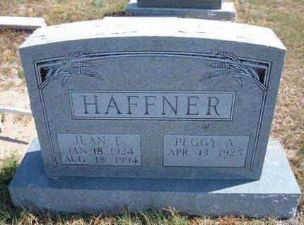 HAFFNER, JEAN E - Baca County, Colorado | JEAN E HAFFNER - Colorado Gravestone Photos