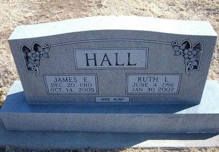 HALL, JAMES E - Baca County, Colorado | JAMES E HALL - Colorado Gravestone Photos
