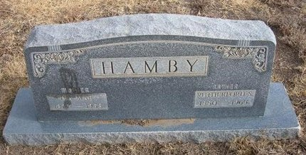 HAMBY, IVA MAE - Baca County, Colorado | IVA MAE HAMBY - Colorado Gravestone Photos
