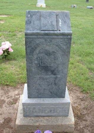 HANCOCK, MARTIN A - Baca County, Colorado   MARTIN A HANCOCK - Colorado Gravestone Photos