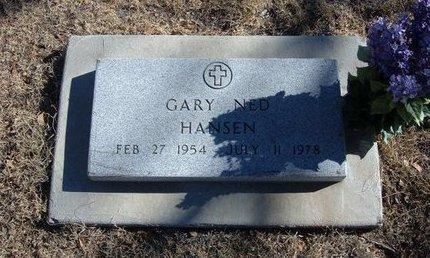 HANSEN, GARY NED - Baca County, Colorado | GARY NED HANSEN - Colorado Gravestone Photos