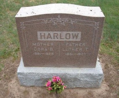 HARLOW, CORA B - Baca County, Colorado | CORA B HARLOW - Colorado Gravestone Photos