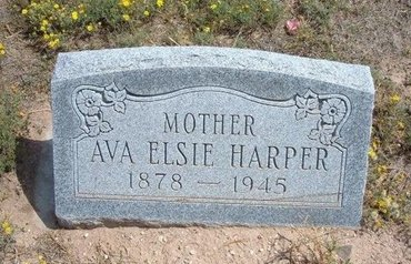 HARPER, AVA ELSIE - Baca County, Colorado | AVA ELSIE HARPER - Colorado Gravestone Photos