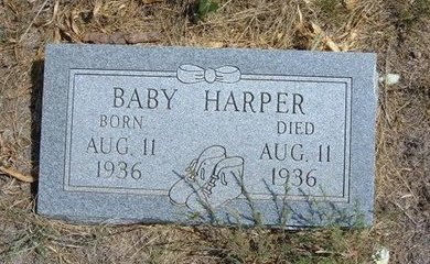 HARPER, BABY - Baca County, Colorado | BABY HARPER - Colorado Gravestone Photos