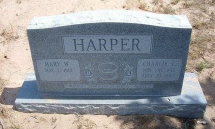 HARPER, CHARLIE L - Baca County, Colorado | CHARLIE L HARPER - Colorado Gravestone Photos