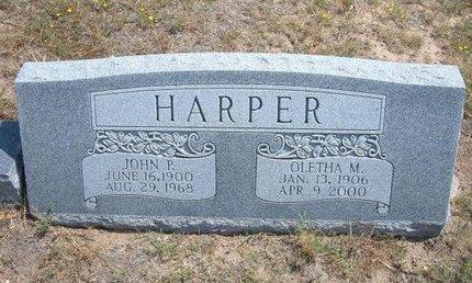 POWELL HARPER, MARY MINERVA OLETHA - Baca County, Colorado | MARY MINERVA OLETHA POWELL HARPER - Colorado Gravestone Photos