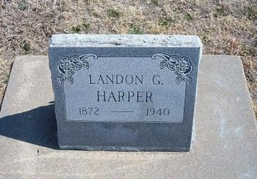 HARPER, LANDON G - Baca County, Colorado | LANDON G HARPER - Colorado Gravestone Photos