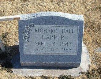 HARPER, RICHARD DALE - Baca County, Colorado   RICHARD DALE HARPER - Colorado Gravestone Photos