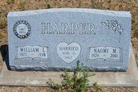 HARPER, NAOMI M - Baca County, Colorado | NAOMI M HARPER - Colorado Gravestone Photos