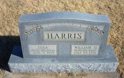 HARRIS, WILLIAM O - Baca County, Colorado   WILLIAM O HARRIS - Colorado Gravestone Photos