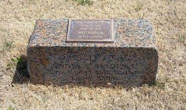 HAVENS, SADIA S - Baca County, Colorado | SADIA S HAVENS - Colorado Gravestone Photos