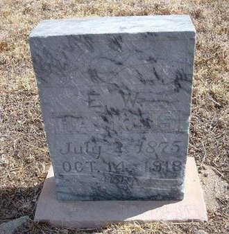 HAWKINS, E W - Baca County, Colorado | E W HAWKINS - Colorado Gravestone Photos