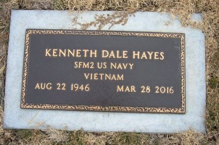 HAYES (VETERAN VIET), KENNETH DALE - Baca County, Colorado | KENNETH DALE HAYES (VETERAN VIET) - Colorado Gravestone Photos
