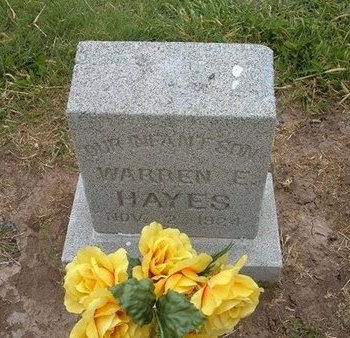 HAYES, WARREN E - Baca County, Colorado | WARREN E HAYES - Colorado Gravestone Photos