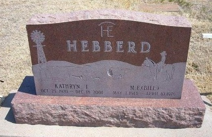 "HEBBERD, MILTON EDGAR ""BILL"" - Baca County, Colorado 