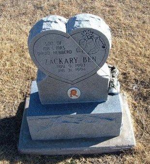 HEBBERD, ZACKARY BEN - Baca County, Colorado | ZACKARY BEN HEBBERD - Colorado Gravestone Photos