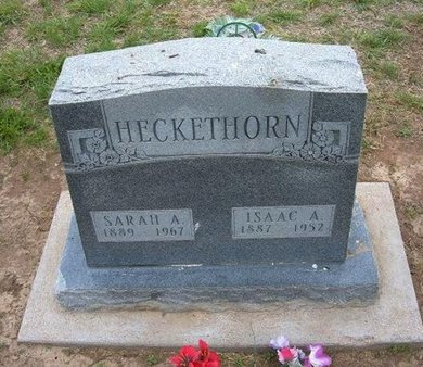 HECKETHORN, SARAH A - Baca County, Colorado | SARAH A HECKETHORN - Colorado Gravestone Photos