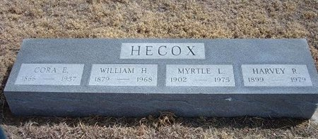 HECOX, WILLIAM H - Baca County, Colorado | WILLIAM H HECOX - Colorado Gravestone Photos