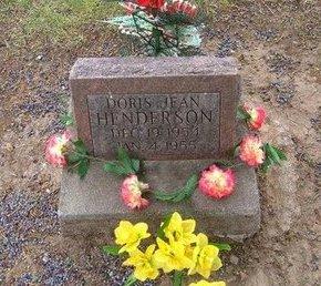 HENDERSON, DORIS JEAN - Baca County, Colorado   DORIS JEAN HENDERSON - Colorado Gravestone Photos