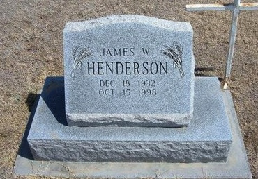 HENDERSON, JAMES W - Baca County, Colorado | JAMES W HENDERSON - Colorado Gravestone Photos