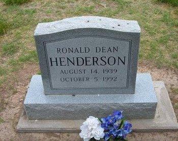 HENDERSON, RONALD DEAN - Baca County, Colorado | RONALD DEAN HENDERSON - Colorado Gravestone Photos
