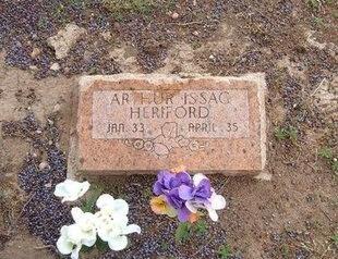 HERIFORD, ARTHUR ISAAC - Baca County, Colorado | ARTHUR ISAAC HERIFORD - Colorado Gravestone Photos