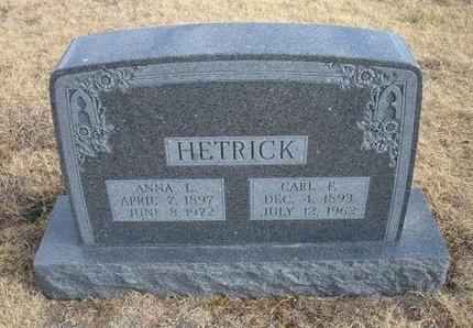 HETRICK, ANNA L - Baca County, Colorado | ANNA L HETRICK - Colorado Gravestone Photos