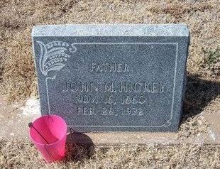 HICKEY, JOHN M - Baca County, Colorado | JOHN M HICKEY - Colorado Gravestone Photos