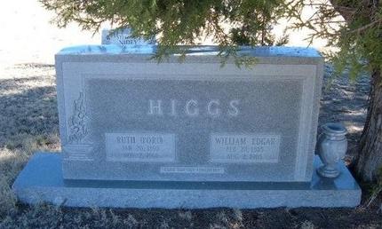 FORD HIGGS, RUTH - Baca County, Colorado | RUTH FORD HIGGS - Colorado Gravestone Photos