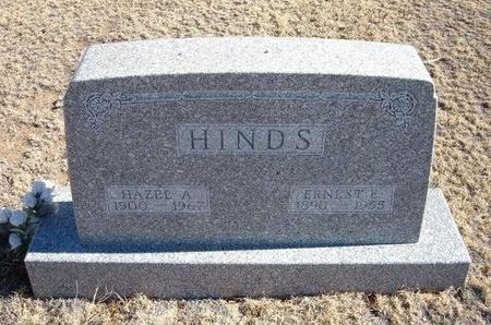 HINDS, HAZEL A - Baca County, Colorado | HAZEL A HINDS - Colorado Gravestone Photos