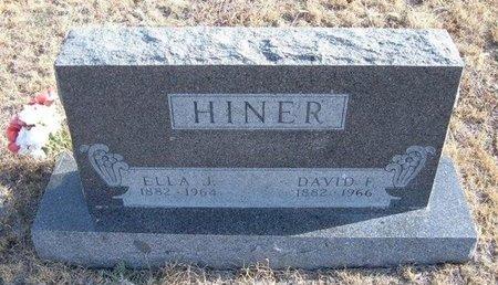 HINER, ELLA JANE - Baca County, Colorado | ELLA JANE HINER - Colorado Gravestone Photos