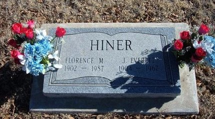 HINER, FLORENCE M - Baca County, Colorado | FLORENCE M HINER - Colorado Gravestone Photos