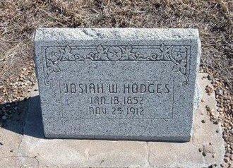 HODGES, JOSIAH W - Baca County, Colorado   JOSIAH W HODGES - Colorado Gravestone Photos
