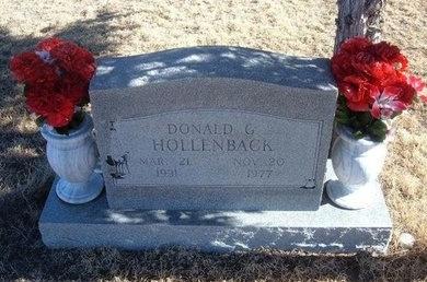 HOLLENBACK, DONALD G - Baca County, Colorado | DONALD G HOLLENBACK - Colorado Gravestone Photos
