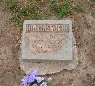 HOLLINSWORTH, HENRY - Baca County, Colorado | HENRY HOLLINSWORTH - Colorado Gravestone Photos