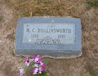 HOLLINSWORTH, M C - Baca County, Colorado | M C HOLLINSWORTH - Colorado Gravestone Photos