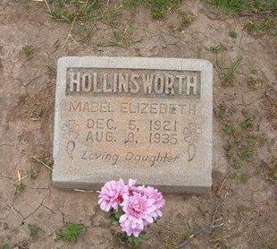 HOLLINSWORTH, MABEL ELIZABETH - Baca County, Colorado | MABEL ELIZABETH HOLLINSWORTH - Colorado Gravestone Photos