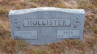 HOLLISTER, FANNIE - Baca County, Colorado   FANNIE HOLLISTER - Colorado Gravestone Photos