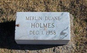 HOLMES, MERLIN DUANE - Baca County, Colorado | MERLIN DUANE HOLMES - Colorado Gravestone Photos