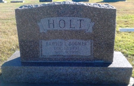 "HOLT, HAROLD LEE ""BOOMER"" - Baca County, Colorado | HAROLD LEE ""BOOMER"" HOLT - Colorado Gravestone Photos"