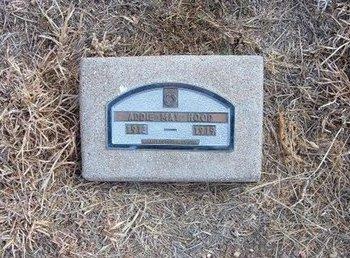 HOOD, ADDIE MAY - Baca County, Colorado | ADDIE MAY HOOD - Colorado Gravestone Photos